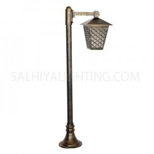 Post Light 145-121-E27 Glass Diffuser - Goldmine