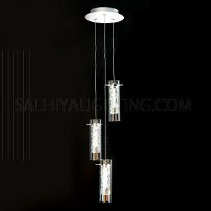 Yhan LED Pendant Light MD17002001-3A - Chrome
