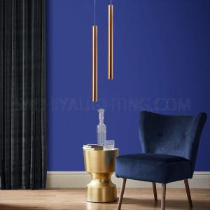 Modern Stylish Sleek Pendant Light MD1302A-1B- 900 - Rose Gold