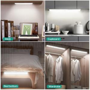 LED Motion Sensor Lights Warm White (2700K) - White