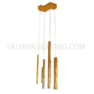 Modern Stylish Hanging LED Light MD1302B-6 - Rose Gold