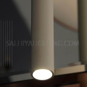Modern Stylish Sleek Pendant Light H6521-800 Philips LED 4.5W 3000K - White