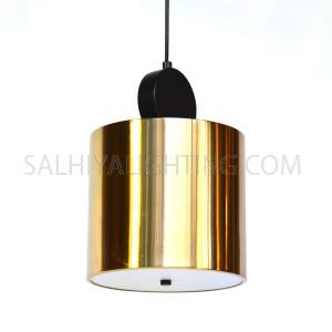 Modern Suntanned Pendant Light  D220*H1600mm -  Bronze