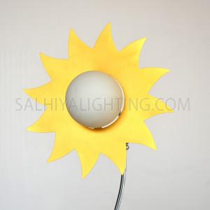 Table Lamp-85509-SUN1xG4 Bulb-White/Chrome
