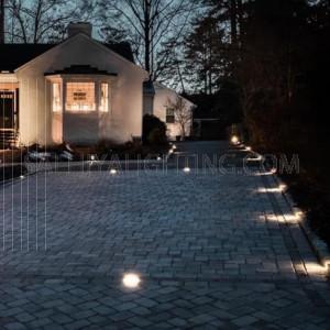 Inground Light H1212 - IP67 1*7W - Silver