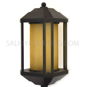 Gate Top Light A21-3A -9 - Black