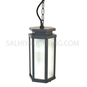 Outdoor Hanging Light 164 - 5A - Dark Grey