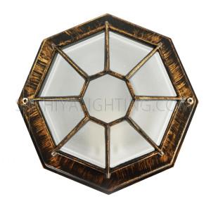 Indoor / Outdoor Bulkhead Light / Wall Lightt P-822 - Gold