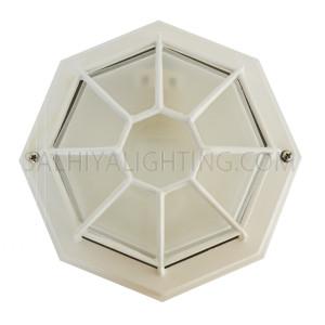Indoor / Outdoor Bulkhead Light / Wall Light P-822 - White