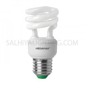 Megaman Energy Saving  8W CFL Bulb Warm White - 6 Pcs