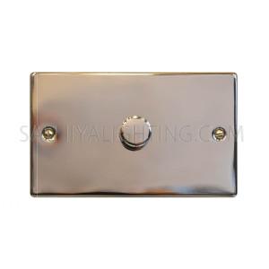 Dimmer Switch 1Gang 2Way 250V 2000W T372EB - Chrome