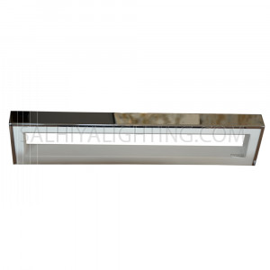 LED Mirror Light / Picture Light Steel 18x1W - White