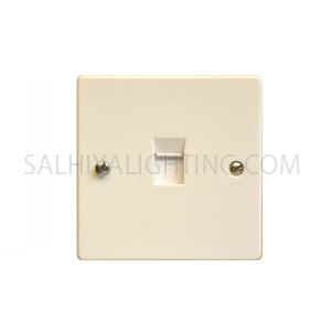 Telephone Socket 1Gang W442 8Line  - White