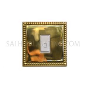 Door Bell 1Gang 10Amp T317AB - Brass