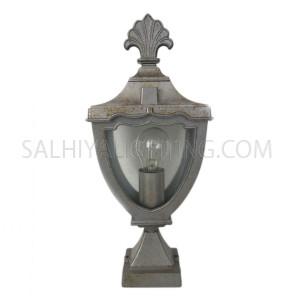 Gate Top Light  H0167 - Silver
