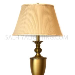 Table Lamp T127-30-1  Brass / Beige