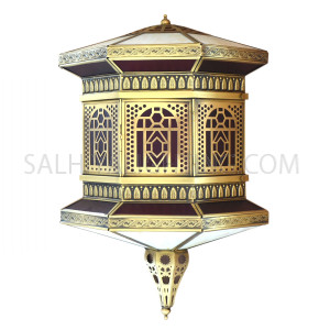 Indoor Arabic Wall Light DT0827 - Brass