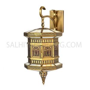Indoor Arabic Wall Light DT0827 - Brass