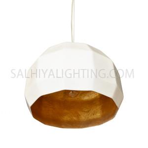 Bowl Pendant Light D130526 Dia400 - White