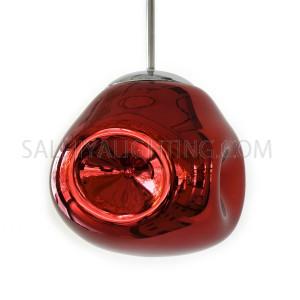 Modern Delilah Pendant Light D170909 - Red