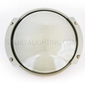 Indoor / Outdoor Bulkhead Light / Wall Light P-825 - Grey