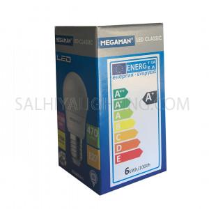 Megaman LED Classic Bulb E27 LG2605.5v1 5.5W 2700K -Warm White