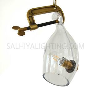 Modern Glass Pendant Light MD10961 - Transparent