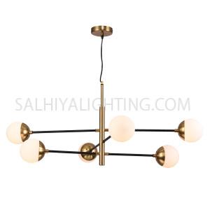 Modern Stylish 6 Sputnik Hanging Light TP20181212  - Bronze