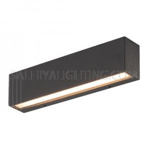 Indoor/Outdoor Wall Light H1381- Grey