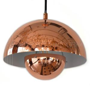 Modern Ginto Pendant Light MD20770 Dia250 - Rose Gold