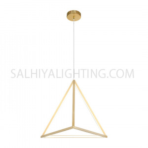 Modern Triangle LED Light TPLD2017LT05/1067 22W - Gold
