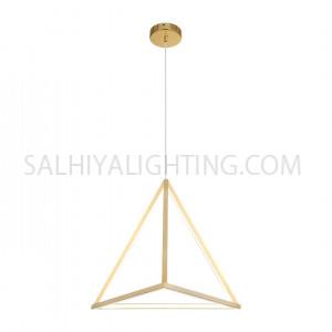 Modern Triangle LED Light TPLD2017LT05-705-LED 45W-Gold