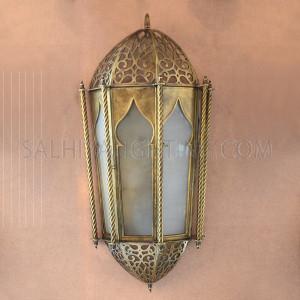 Indoor Arabic Wall Light LOO4-450ABI - Brass