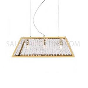 3Bulbs Modern Stylish Pendant Light TP20170709 -  Gold