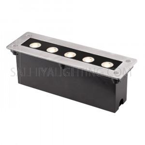 Inground Light 2802 5W Cree LED IP67 - Silver