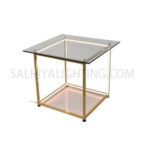 Table Lamp TT20160912-450 Glass-LED 23W Warm White - Gold