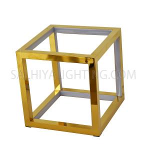 Futuristic LED Geometric Table Lamp TT20160912 - Gold