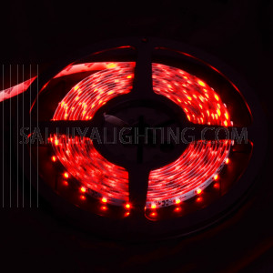 5M LED Flex Strip Light 60 DC 12V 5W/M  IP20 - Red