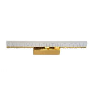 LED Mirror Light / Picture Light 3000K 8.4W Warm White - Gold
