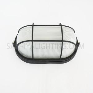 Indoor / Outdoor Bulkhead Light / Wall Light P-805 - Black