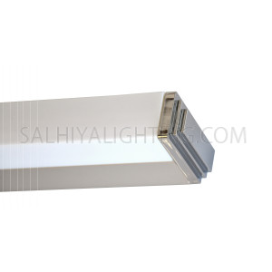 LED Mirror Light / Picture Light  T5 Square 6000K Day Light - Silver Grey