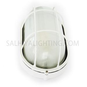 Indoor / Outdoor Bulkhead Light /  Wall Light P-805 - White