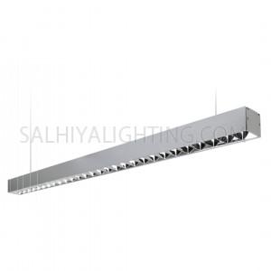 Megaman Gabio LED Pendant Louvre Linear Profile Light FLP70000V0/SV61 30W 4000K - Cool White