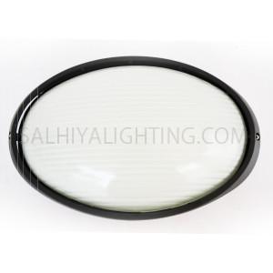 Indoor / Outdoor Bulkhead Light / Wall Light P-852  - Black