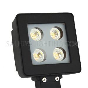 Outdoor Spot Light LED Spike Light 1134 4x1W Warm White -  Black
