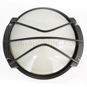 Indoor / Outdoor Bulkhead Light / Wall Bracket P-823 - Black