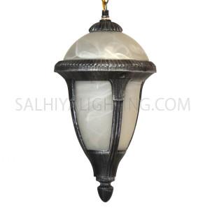 Outdoor Hanging Light KJ-870/1H BKSL - Black