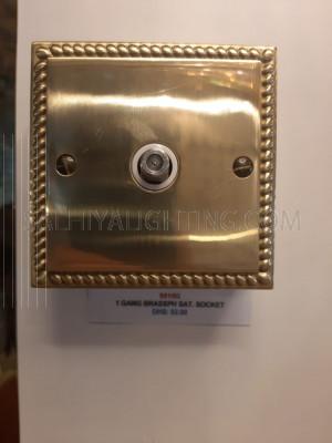 Satellite Switch 1Gang - Gold