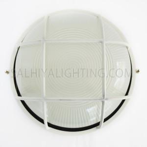 Indoor / Outdoor Bulkhead Light / Wall Bracket P-801 - White