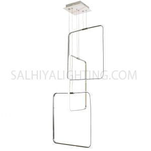Indoor Hanging Light LED MD16098041-3D - Chrome